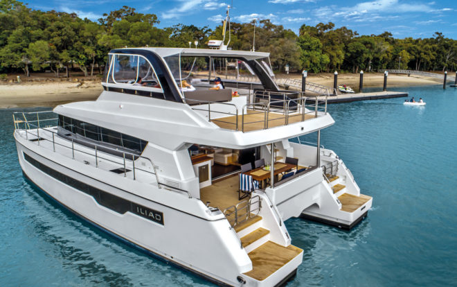 The Iliad 50 debuted at the Sanctuary Cove show last year