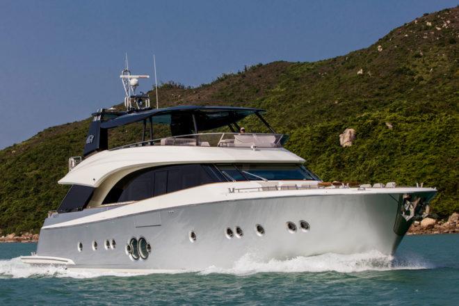 An MCY 86 customised for Asia by Italian designer Dan Lenard
