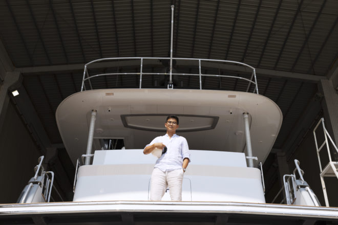 """Hans Lo talks about how CL Yachts is looking to """"shake things up"""""""