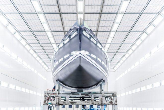 Swan's new Boatbuilding Technology Centre in Pietarsaari, northern Finland