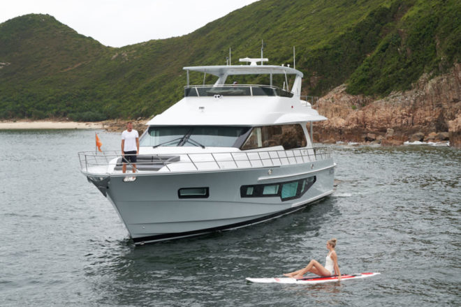 The third CLB72, named I Did It..., was sold to a Hong Kong-based buyer