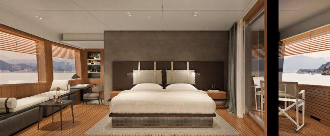 Custom Line Nevatta 30 master suite