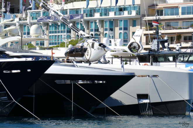 The Monaco Yacht Show bills itself as 'the world's greatest superyacht event'