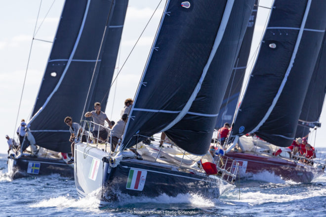The ClubSwan 50 class introduced in 2016 re-energised Swan's one-design racing