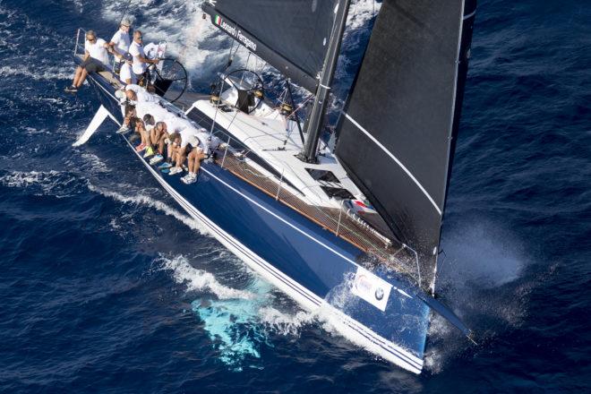 Leonardo Ferragamo's yachts include the ClubSwan 50 Cuordileone (pictured) and the Swan 115 Solleone