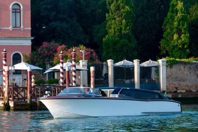 Carlo Nuvolari and Dan Lenard designed the luxury hybrid venetian water taxi