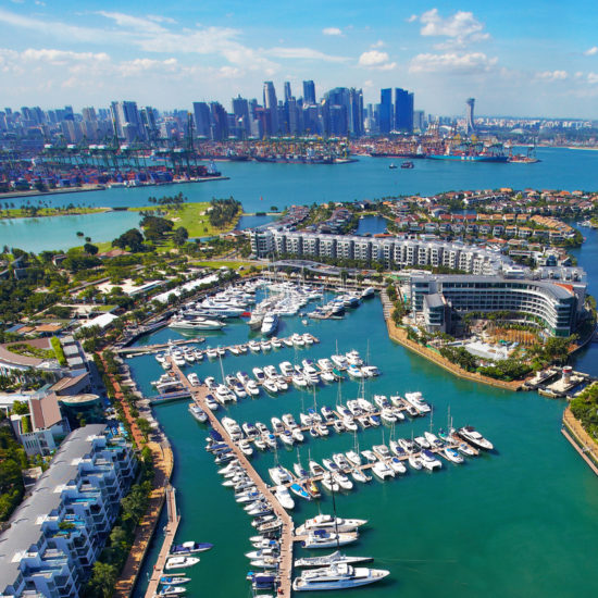 ONE ̊15 Marina Sentosa Cove hosts the annual Singapore Yacht Show