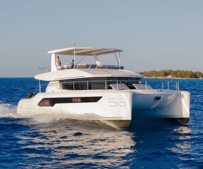 Leopard 53 Power Catamaran