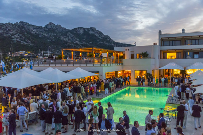 The Rolex Swan Cup has been held in Porto Cervo every two years since 1980