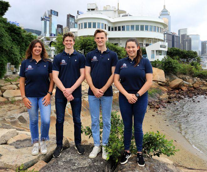Youth America's Cup entry RHKYC Team Agiplast