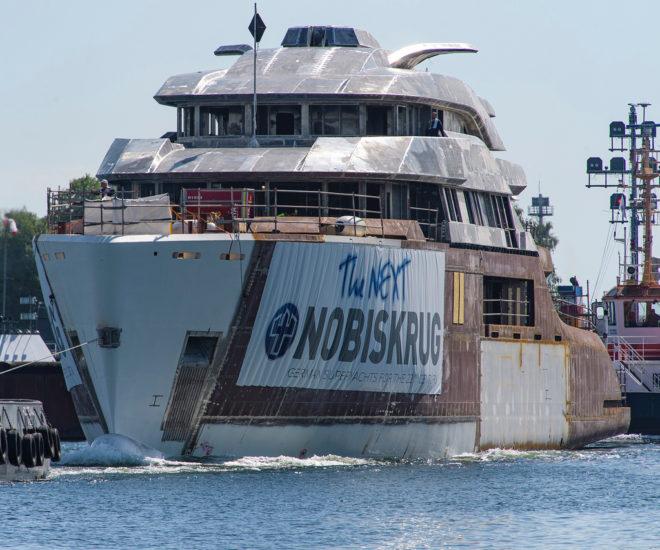 Nobiskrug Project 794 - Hull transfer ©Klaus Jordan for Imperial 16R (1)