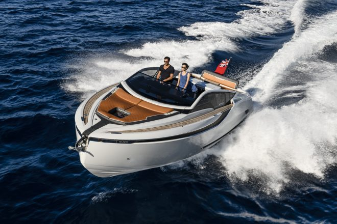 Fairline's new models include the F//Line 33, with one available in Singapore