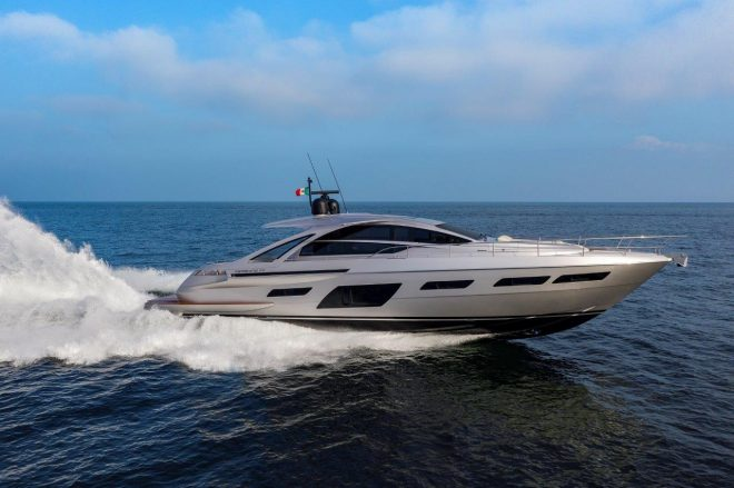 The Pershing 7X is the fastest yacht in the brand's current range