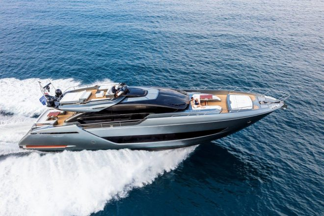 The Riva 88' Folgore will be Ferretti Group's largest world premiere at Cannes