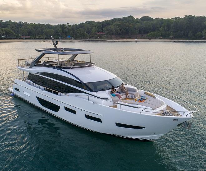 Princess Y85 by Boat Lagoon Yachting