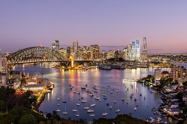 One Sydney Harbour features three residential towers in Barangaroo