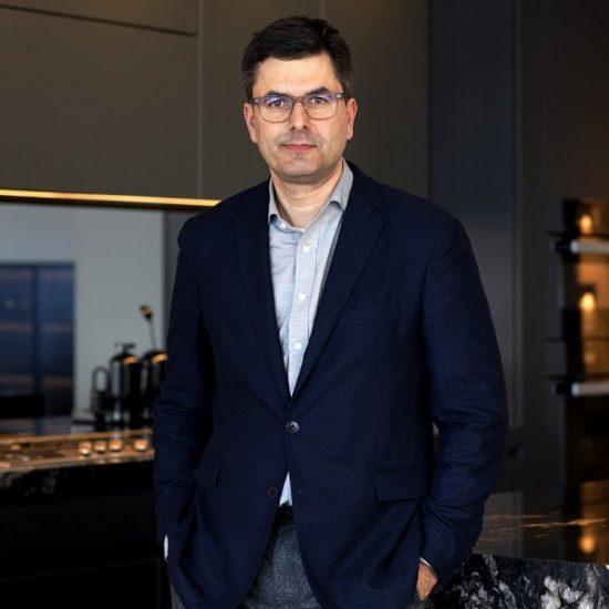 Daniel Goldberg is the interior designer of the two Skyhomes