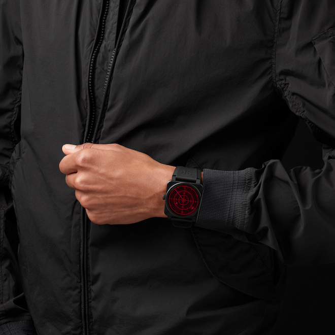 Bell & Ross Is Set To Release The BR03-92 Red Radar Ceramic
