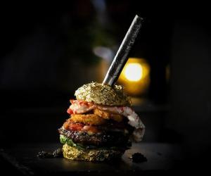 Golden Boy, World's Most Expensive Burger