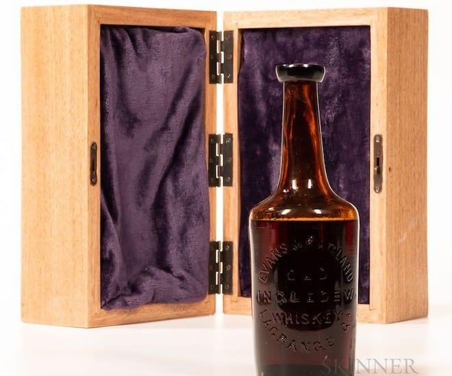 Ingledew Bourbon case with bottle