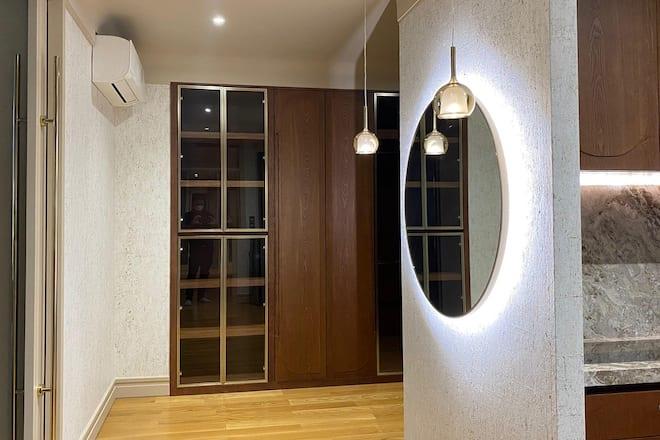 K.R. Decorate closet