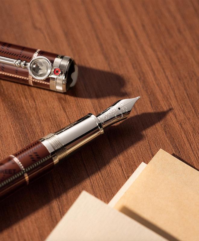 Montblanc Sir Arthur Conan Doyle, Pen, Magnifying glass, nip