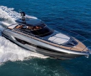 Riva 56 Rivale Hard Top at sea