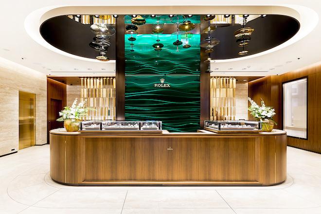 Rolex prestige boutique in Sydney