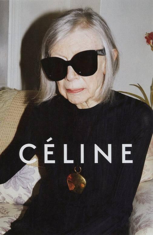Celine Spring 2015, Joan Didion