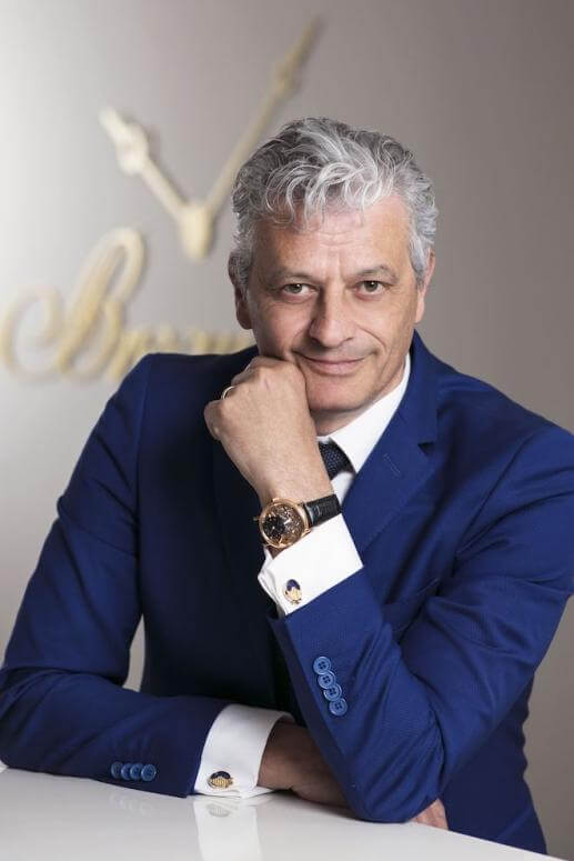 Lionel a Marca, CEO Breguet