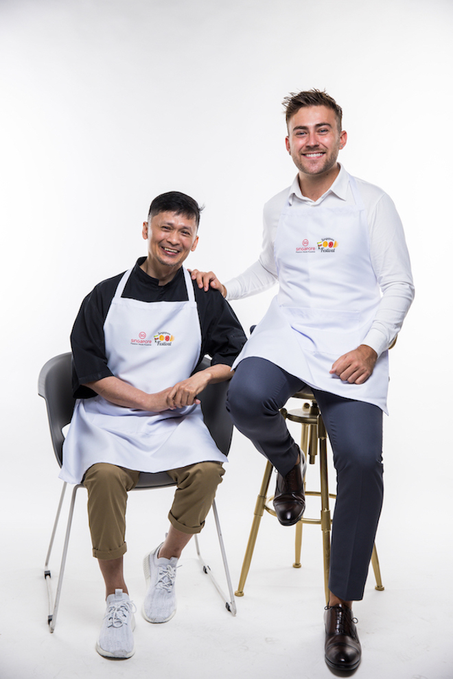 chef haikal and matthew parry