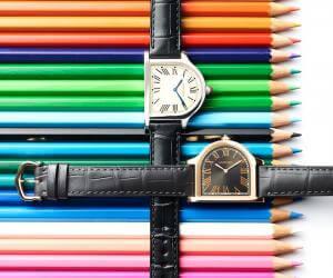 Cloche de Cartier watch