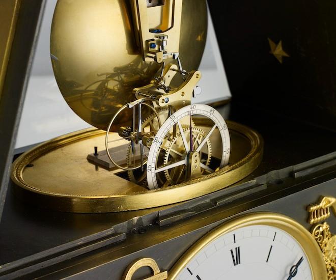 Breguet table clock