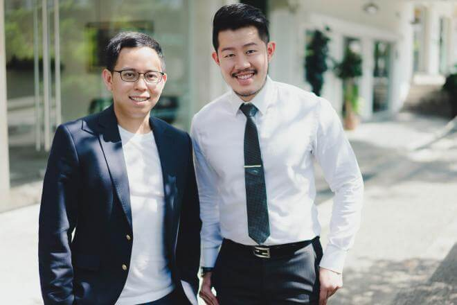 Founders of PI Architects: Ivan Soh and Paul Yeo.