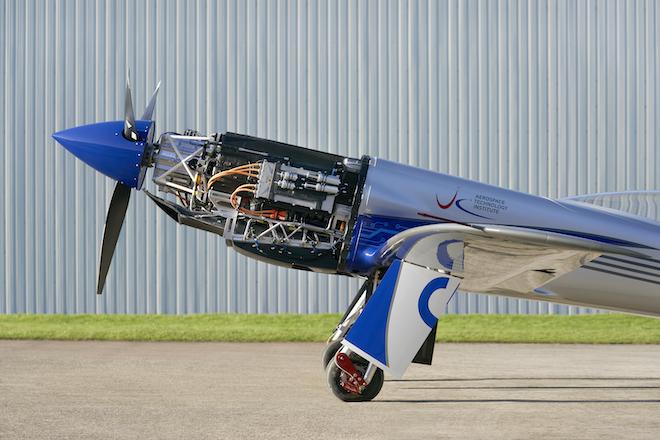Rolls-Royce Gloucester Airport, spirit of innovation