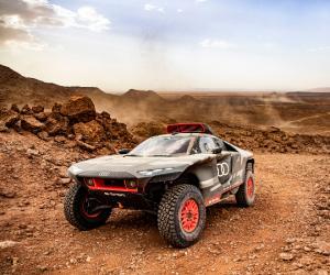 Audi RS Q e-tron Dakar Rally