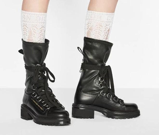 dior d fight boots black