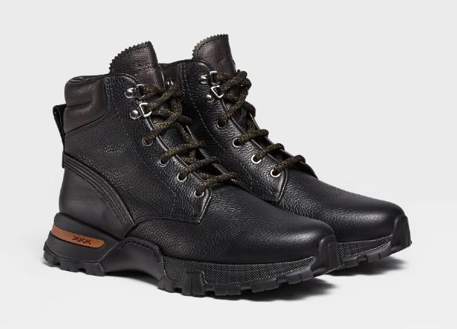 ermenegildo zegna boots black