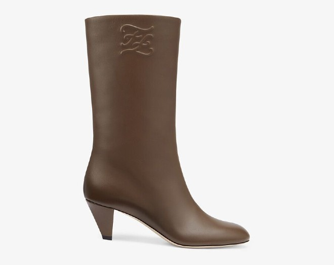 fendi fall winter 21 karligraphy boots