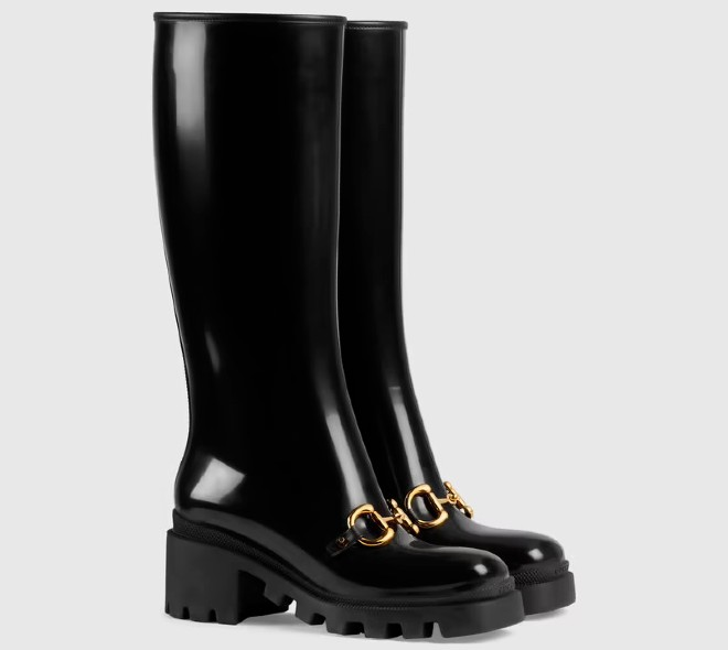 gucci knee high boots fall winter 21