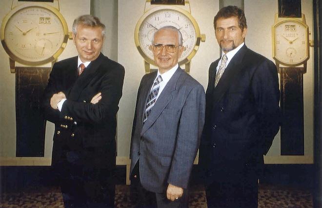 Günter Blümlein, Walter Lange and Hartmut Knothe